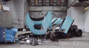 Σκληρά crash tests για το ηλεκτρικό hypercar των 1.914 ίππων