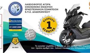 Η κλήρωση για το scooter της ΕΠΣΔ
