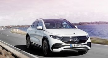 H νέα Mercedes-Benz EQA είναι το πρώτο αμιγώς ηλεκτρικό compact SUV
